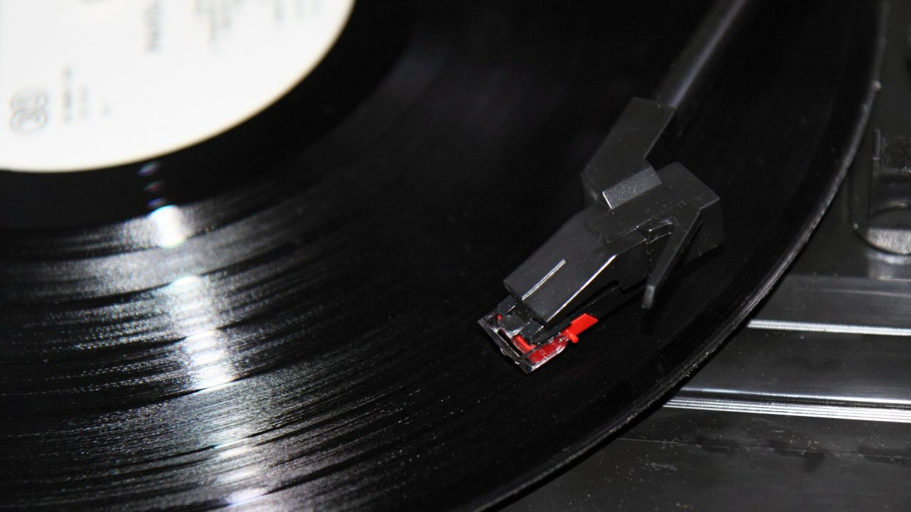 image of record player arm