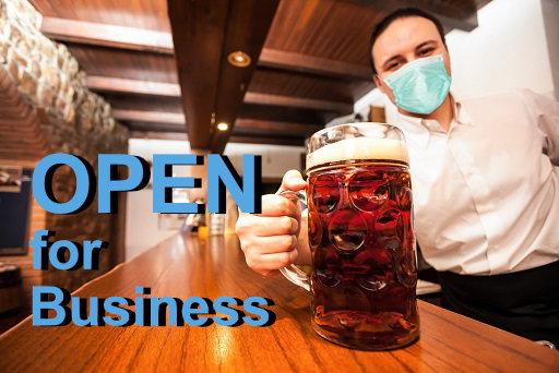 Pub re-openening