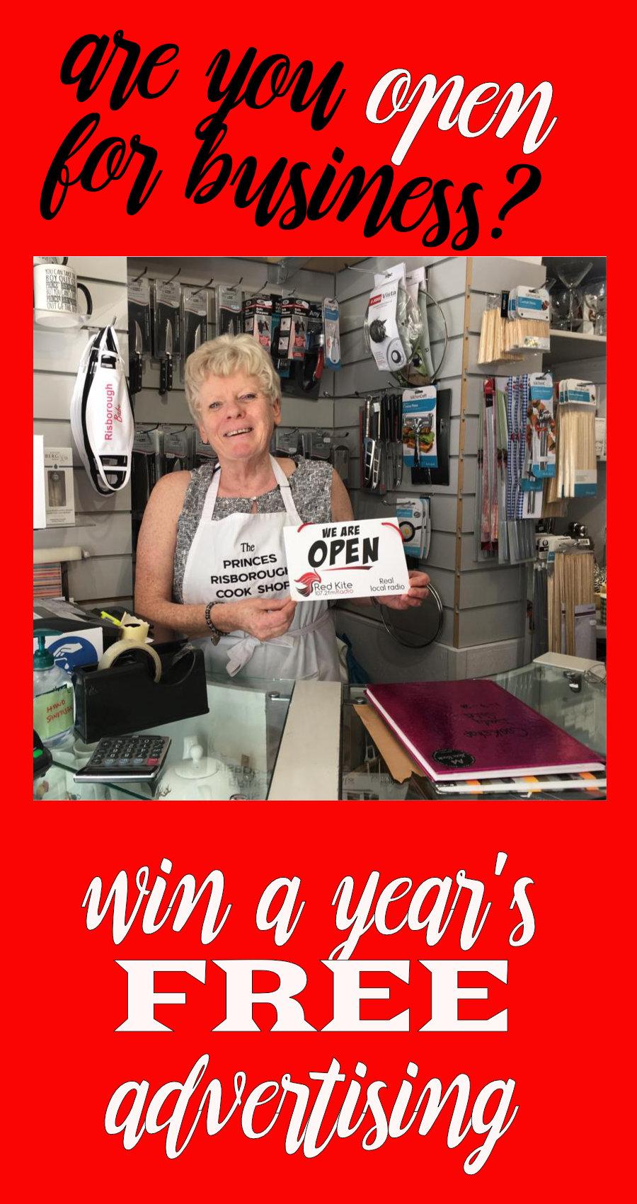 Win a year of free Red Kite Radio Advertising image