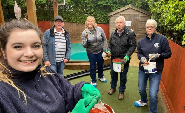Volunteers from Rotary Club of Thame & District
