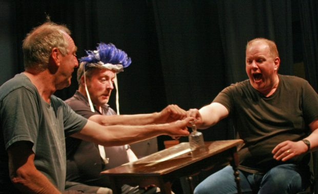 Thame Players Cast Rehearsal